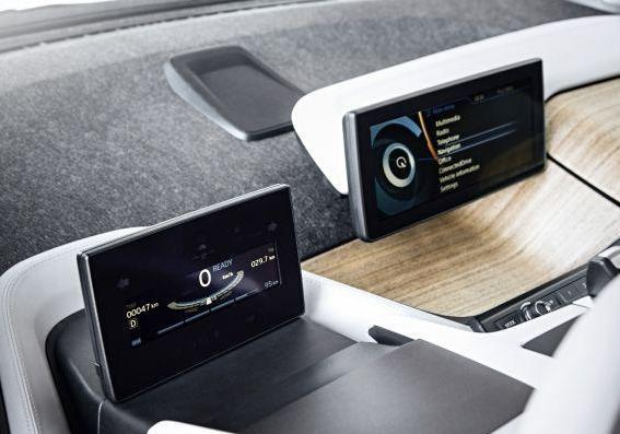 BMW i3 display