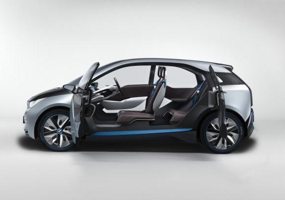 BMW i3 laterale