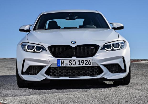 BMW M2 Competition frontale
