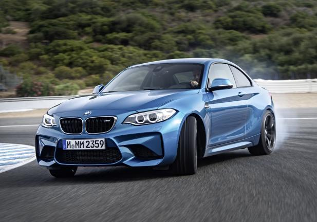 BMW M2 Coupé drift