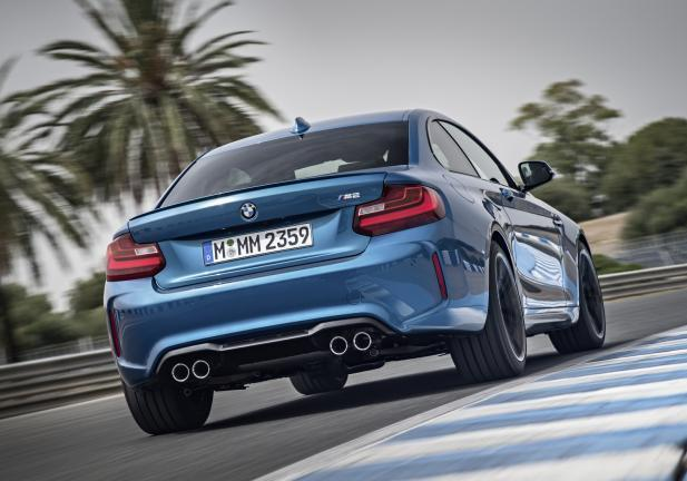 BMW M2 Coupé in pista