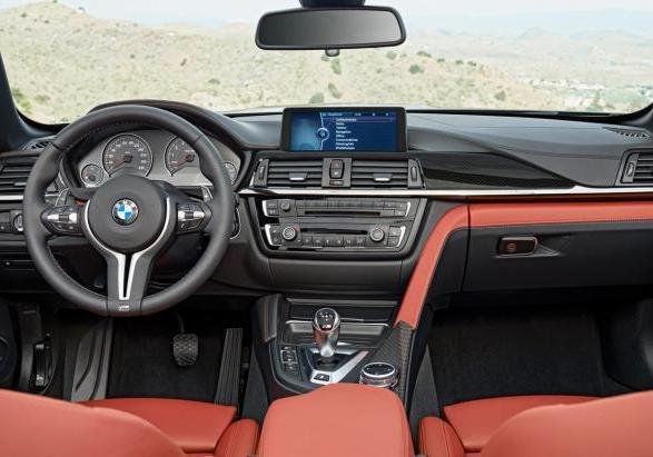 BMW M4 Cabrio interni