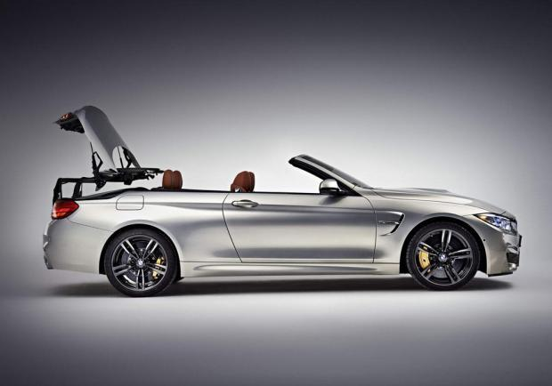 BMW M4 Cabrio movimento apertura tetto