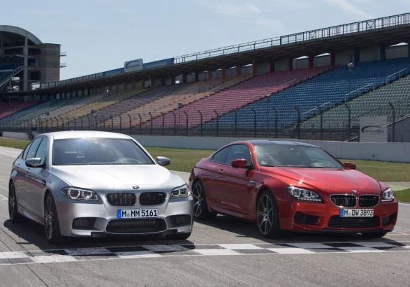 BMW M5 ed M6 con Competition Package