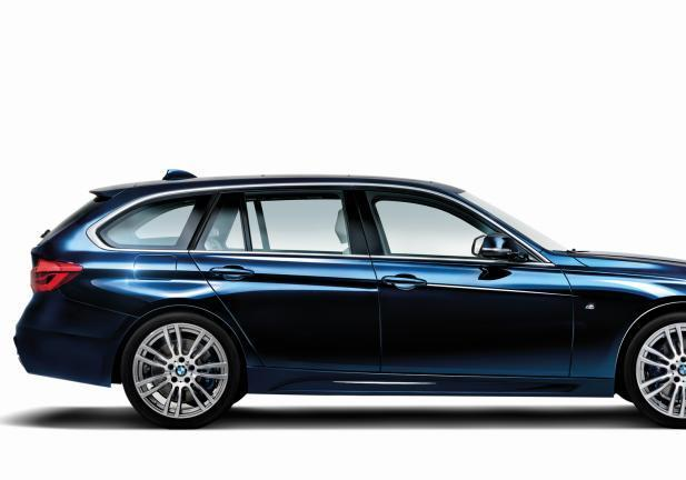 BMW Serie 3 40 Years Edition profilo