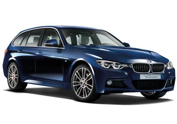 BMW Serie 3 40 Years Edition tre quarti anteriore