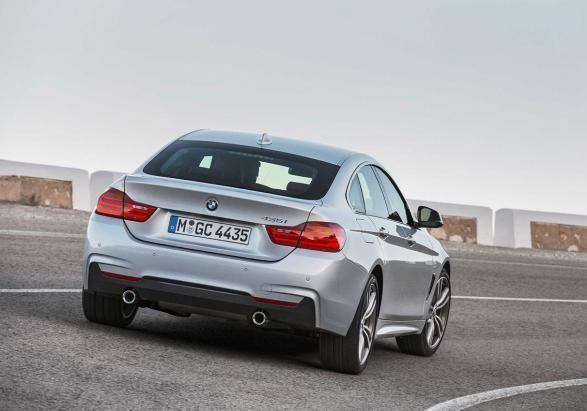 BMW Serie 4 Gran Coup� posteriore