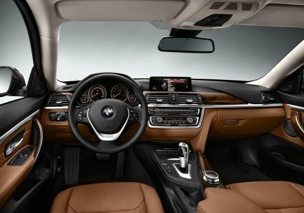 BMW Serie 4 Luxury Line interni