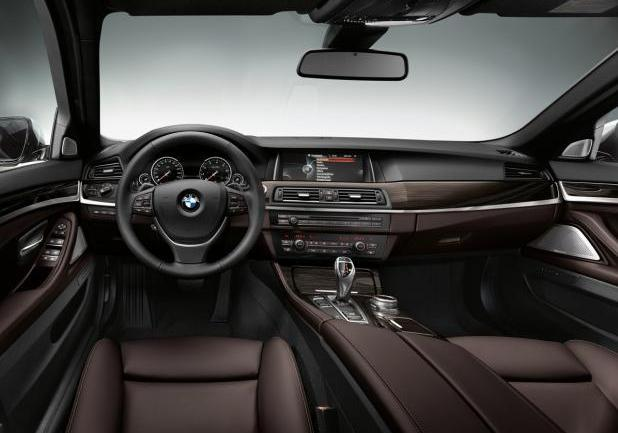 BMW Serie 5 restyling interni