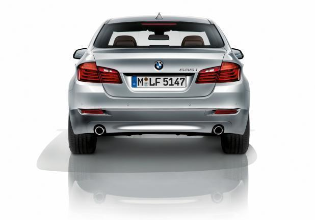 BMW Serie 5 restyling posteriore