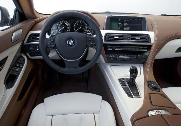 BMW Serie 6 Gran Coupè interno