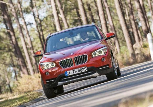 BMW X1 restyling 2012 anteriore