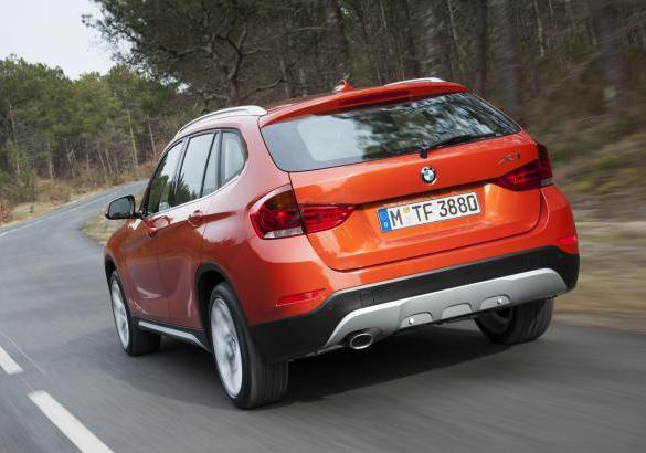 BMW X1 restyling 2012 tre quarti posteriore
