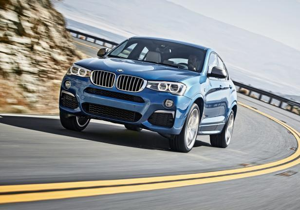 BMW X4 M40i in movimento
