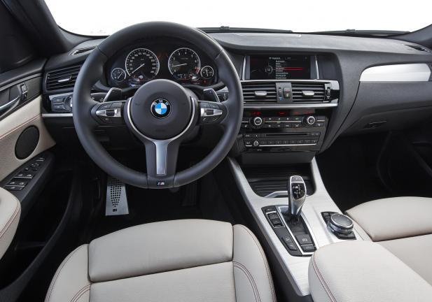 BMW X4 M40i interni