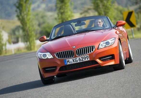 BMW Z4 restyling 2013 anteriore