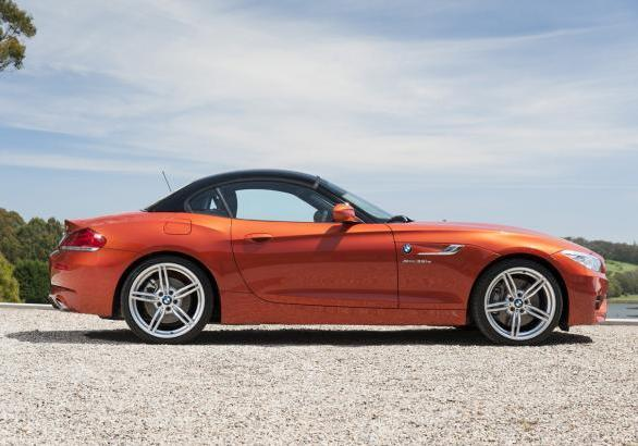 BMW Z4 restyling 2013 hartop chiuso
