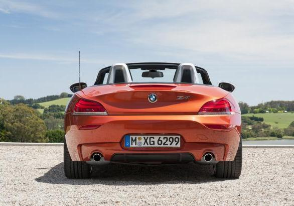 BMW Z4 restyling 2013 posteriore