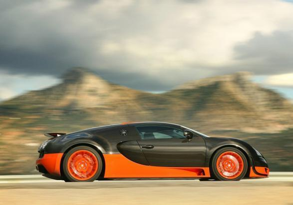 Bugatti Veyron Supersport laterale