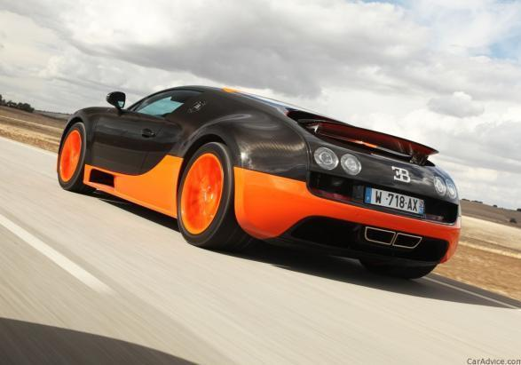 Bugatti Veyron Supersport posteriore