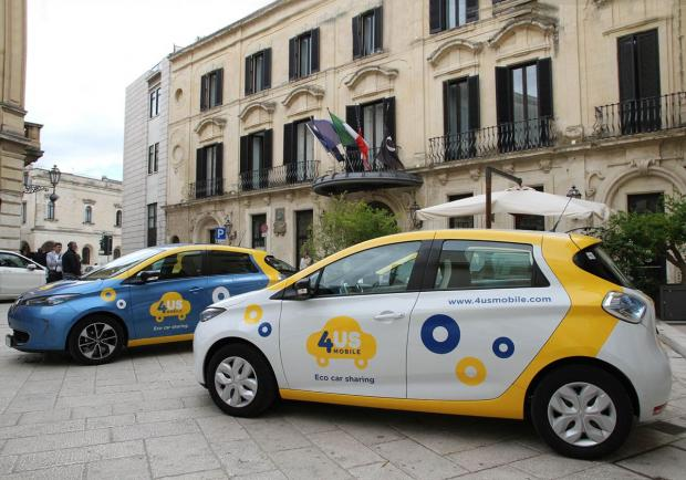 Car-sharing, 50 Renault Zoe per il Salento 01