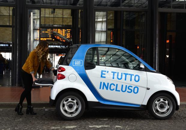 "Car2go Firenze ""è tutto incluso"""