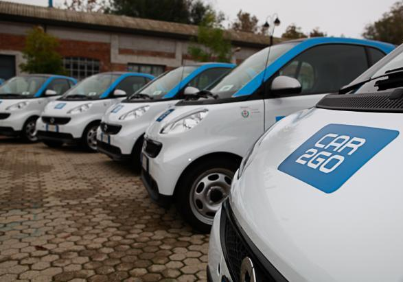 Car2go flotta Smart Fortwo