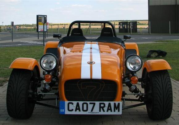 Caterham Seven Supersport frontale