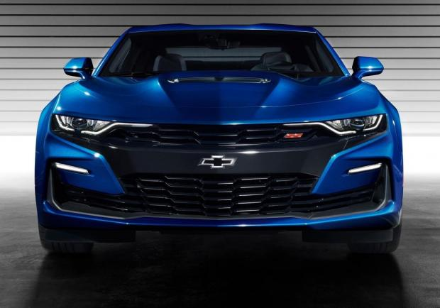 Chevrolet Camaro restyling frontale