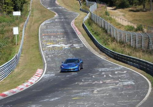 Chevrolet Corvette Stingray al Nürburgring