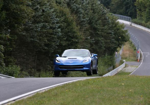 Chevrolet Corvette Stingray test al Nürburgring