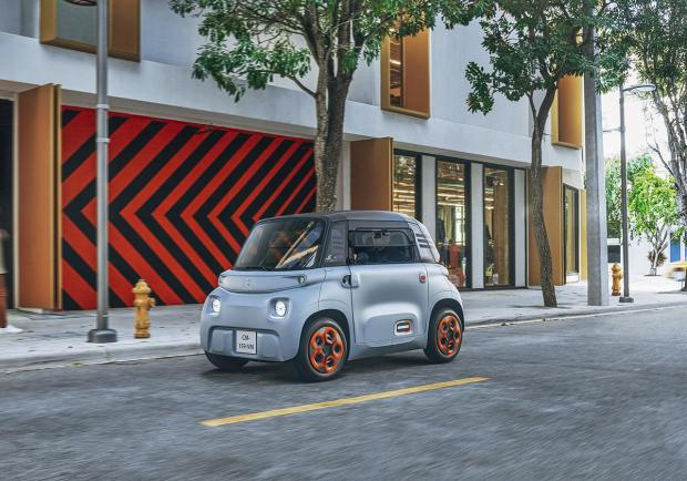 Citroen Ami - 100% electric, lo stand alla Milano Design City