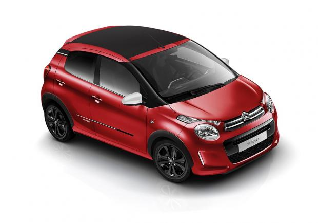 Citroen C1 Urban Ride, la serie speciale della city car 01