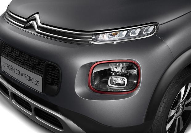 Citroen C3 Aircross BlueHDi 120 EAT6 C-Series esterni