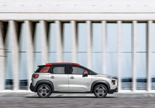 Citroen C3 Aircross BlueHDi 120 EAT6 C-Series profilo