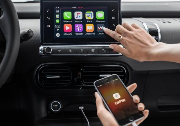 Citroen C4 Cactus restyling Apple CarPlay