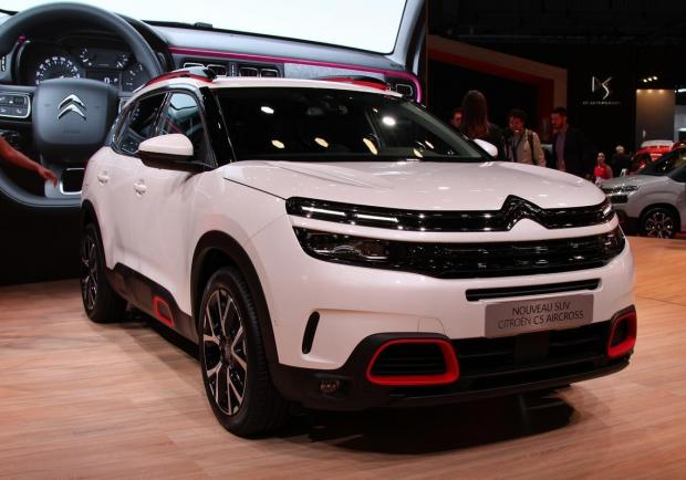 Citroen C5 Aircross Salone di Parigi