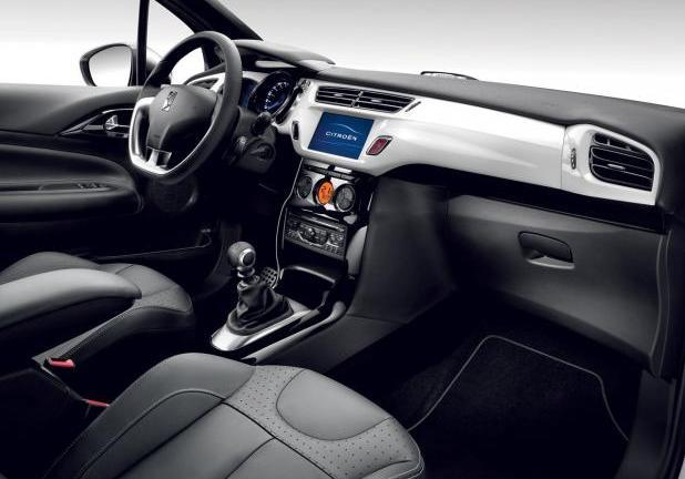 Citroen per neopatentati DS3 interni