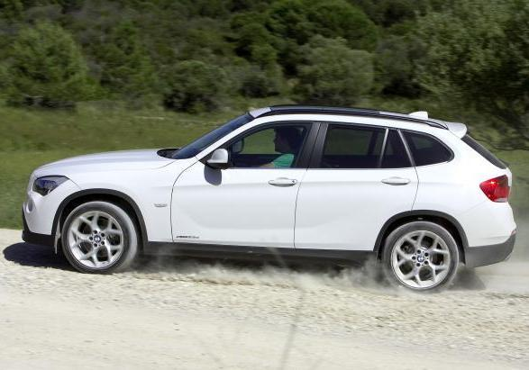 Crossover BMW X1 pre-restyling 2