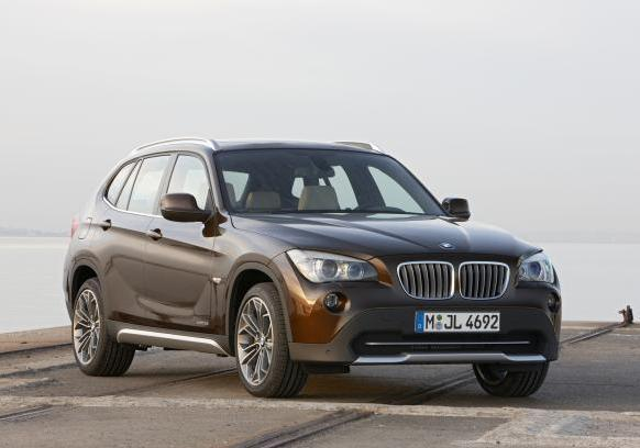 Crossover BMW X1 pre-restyling 3