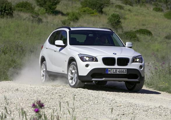 Crossover BMW X1 pre-restyling