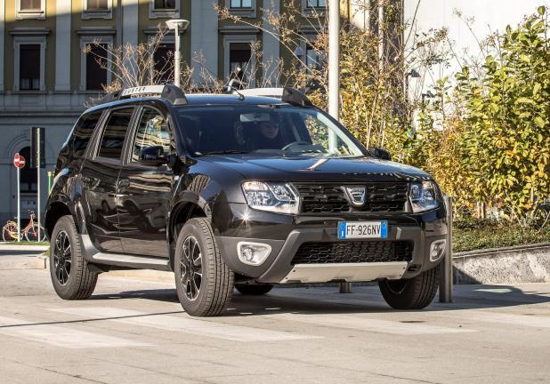 Dacia Duster 16 GPL frontale city