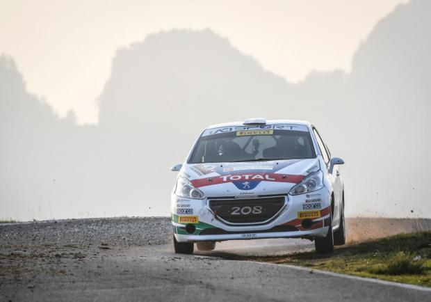De Tommaso 3 Peugeot 208 Rally Due Valli 2018