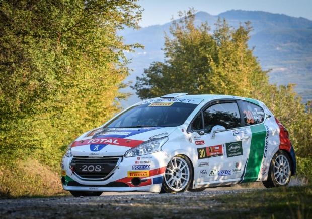De Tommaso Peugeot 208 Rally Due Valli 2018