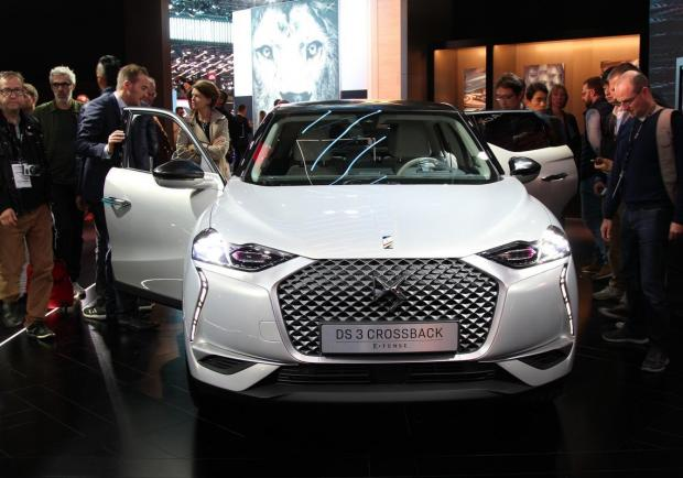 DS 3 Crossback salone di parigi 2018