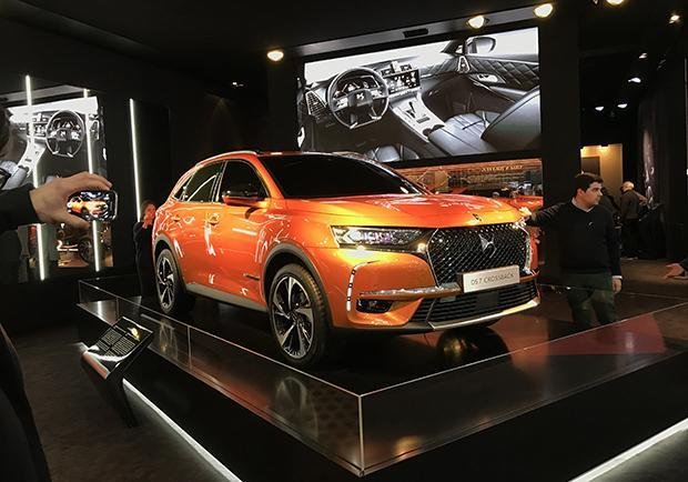 DS 7 Crossback Salone Ginevra 2017