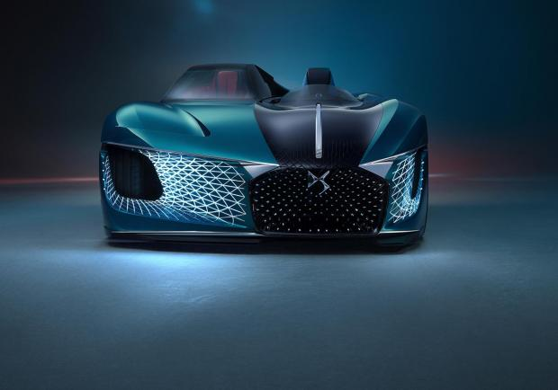 DS X E-Tense, la dream car elettrica del 2035 01
