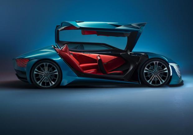 DS X E-Tense, la dream car elettrica del 2035 03