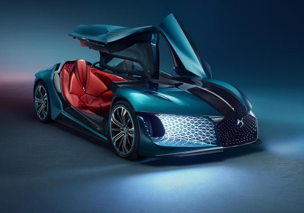 DS X E-Tense, la dream car elettrica del 2035 05