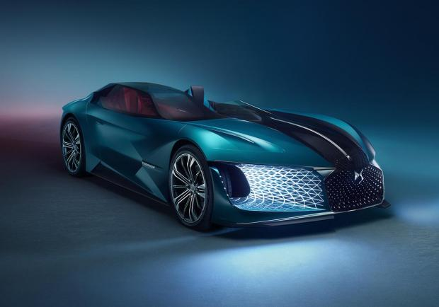 DS X E-Tense, la dream car elettrica del 2035 06